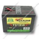droge batterij - Alkaline 9V/120Ah