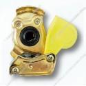 luchtdrukkoppeling 2 geel M16x1,5 trekker